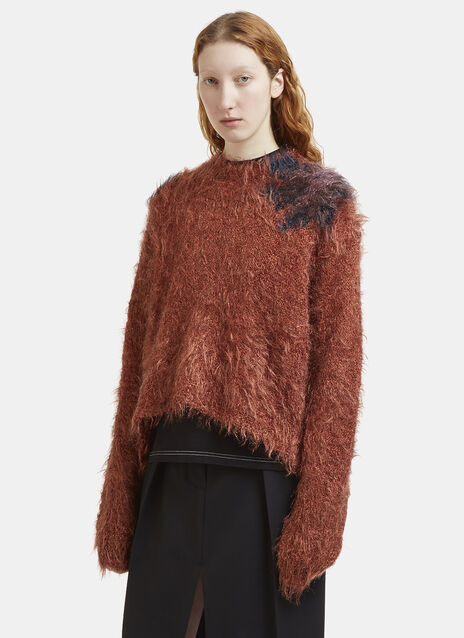 Acne Studios Fhira Hairy Knit Sweater