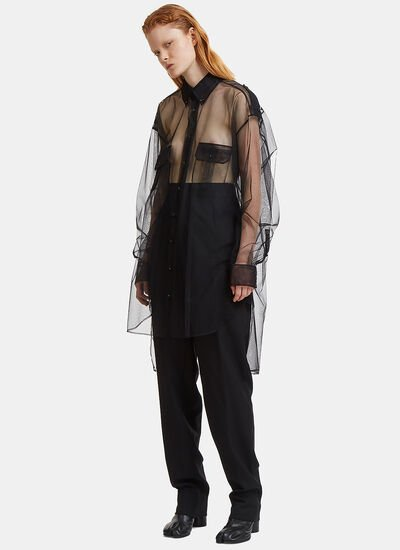 Maison Margiela Things You Can't Believe Tulle Shirt