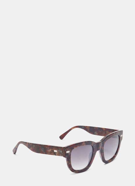 Frame Metal Sunglasses