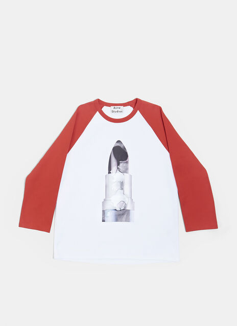 Long Sleeve Lipstick T-shirt