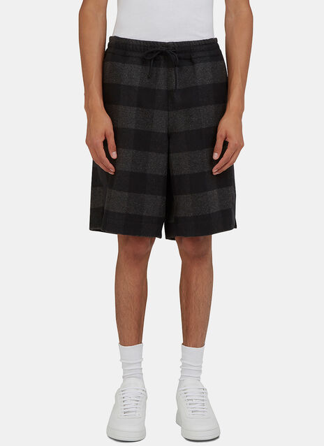 Arc Game Tartan Checked Shorts