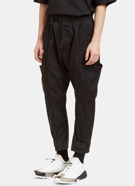 Wired Pocket Cropped Track Pants