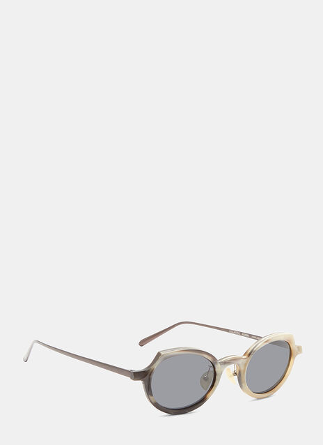 RG0090 Horn Oval Sunglasses