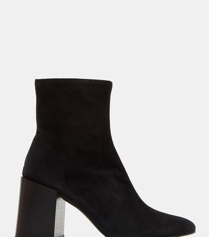 Saul Reverse Suede Ankle Boots