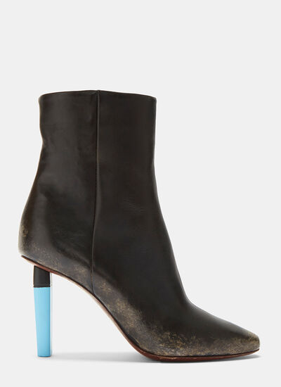 Highlighter Ankle Boots