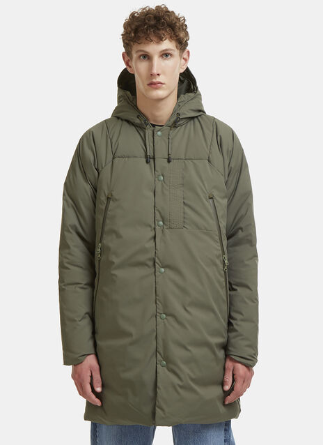 Padded Army Coat