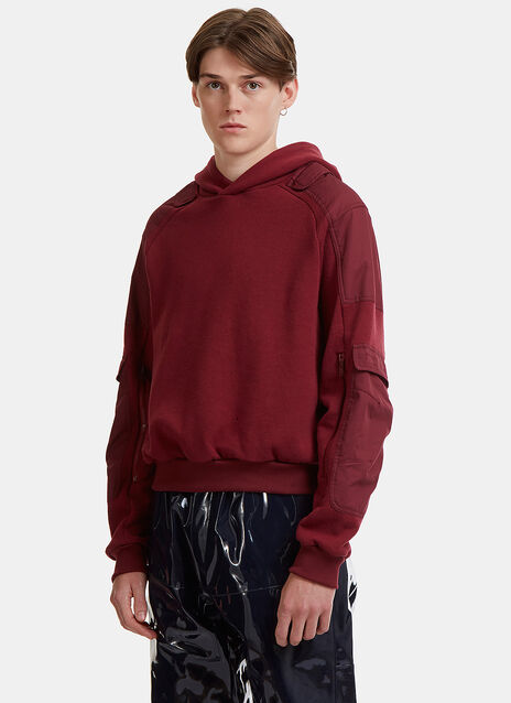 Marlon Pocket Hooded Sweatshirt