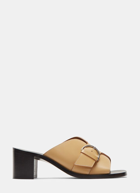 Vikki Buckled Mule Sandals