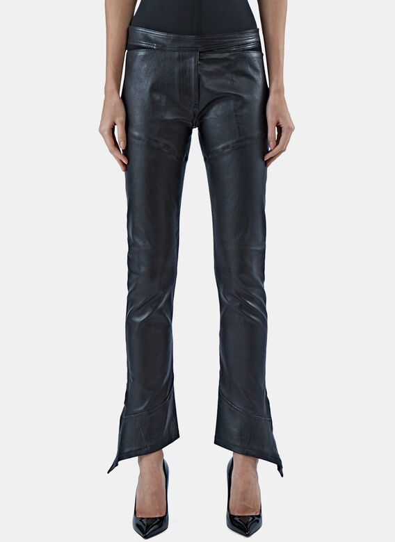 Paco Rabanne Stretched Leather Pants