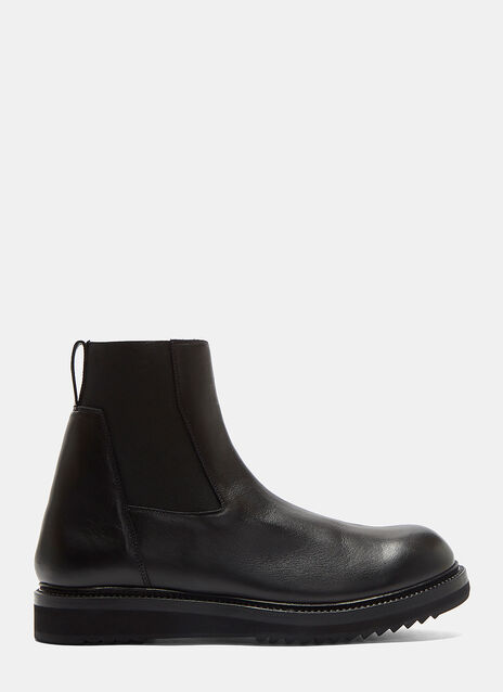 Creeper Leather Ankle Boots