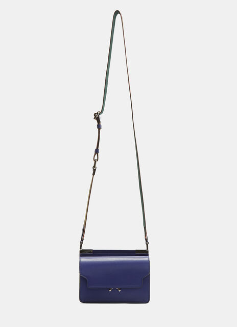 Marni Mini Striped Strap Trunk Bag