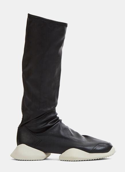 RO Runner Leather Stretch Sneaker Boots