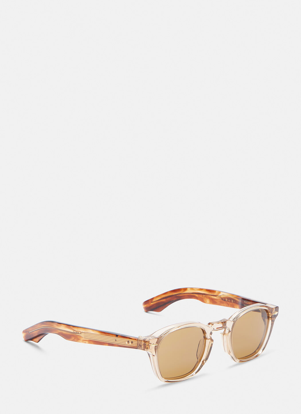 Unisex Zephirin Havana Sunglasses in Brown