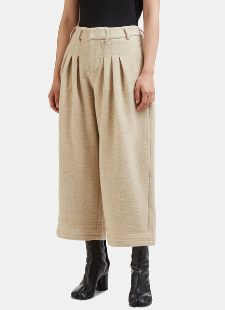 Renli Su Cropped Wide Leg Pants