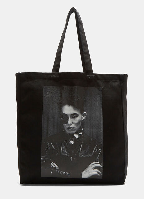 x LN-CC Graphic Printed Tote Bag
