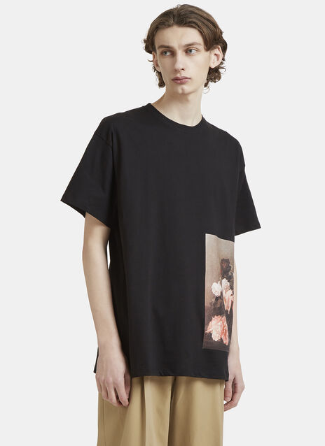 Raf Simons Flower T-Shirt