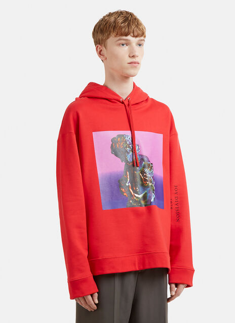Raf Simons Joy Division Atmosphere Hooded Sweatshirt