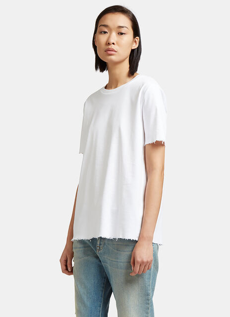Isidora Frayed Edge T-Shirt
