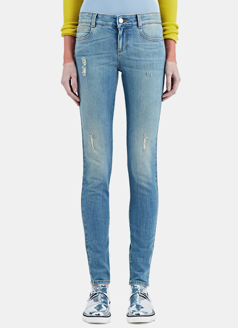 Slim Washed Jeans