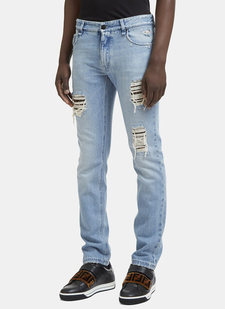 Slim Distressed Jean