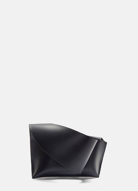 Venczel Curved Medium Clutch