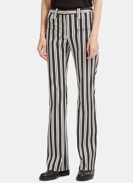 Serge Striped Flared Pants
