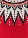 Fair Isle Sequin Thick Knitted Sweater