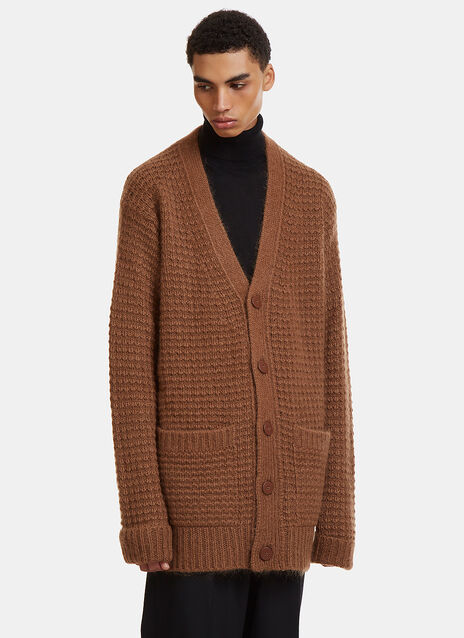 Stella Mccartney Oversized Waffle Knit Cardigan