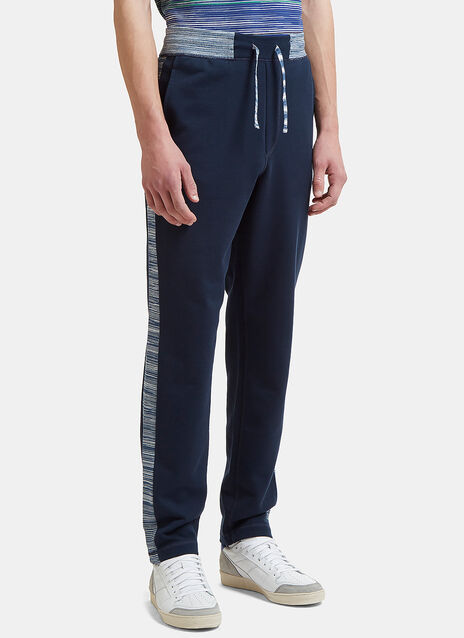 Track Pants with Contrast Waistband