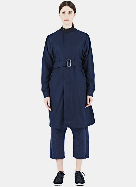 Mid-Length Wool Coat