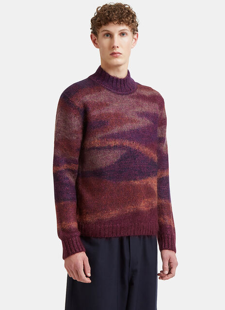 Missoni Stripe Intarsia Sweater
