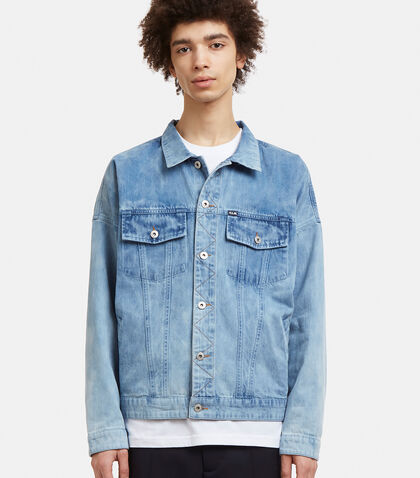 PERKS AND MINI Psy Life Denim Jacket in Blue