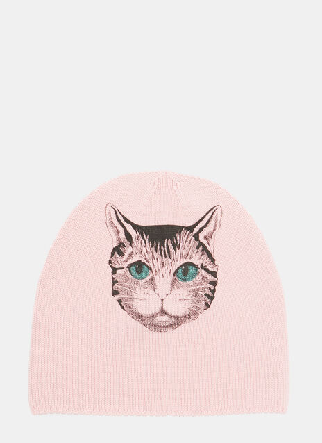Mystic Cat Wool Hat