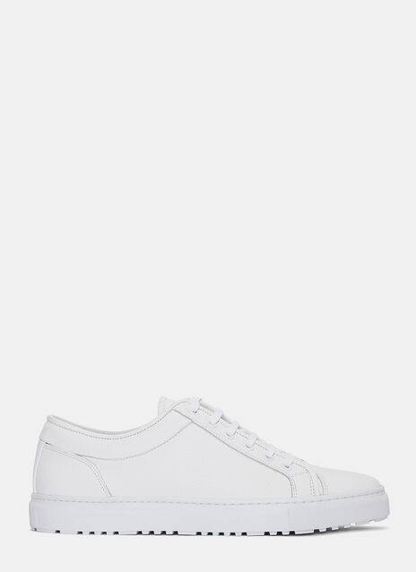 Low 1 Grained Sneakers