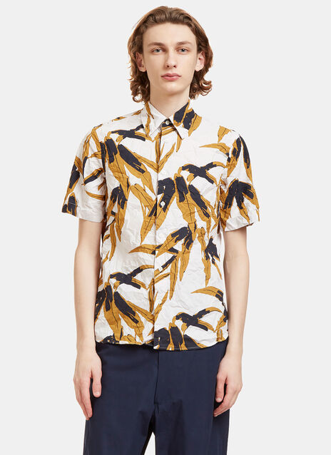 Swash Botanic Print Crumpled Shirt