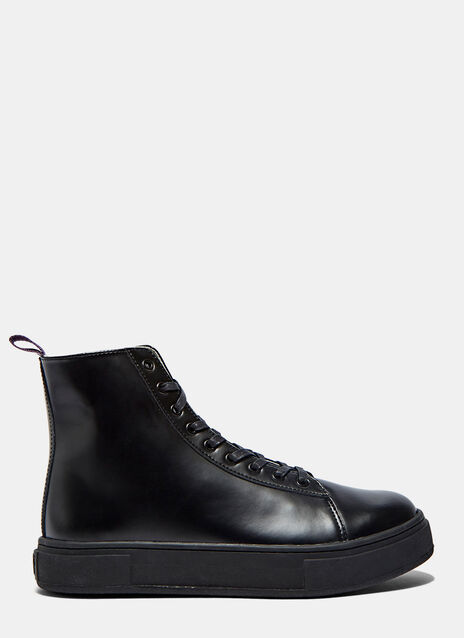 Kibo High-Top Leather Sneakers