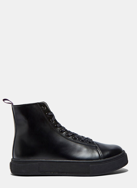 Eytys Kibo High-Top Leather Sneakers