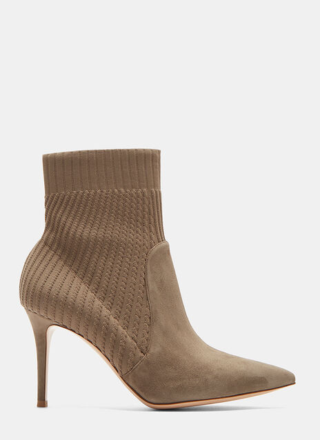 Katie 85 Stiletto Ankle Boots