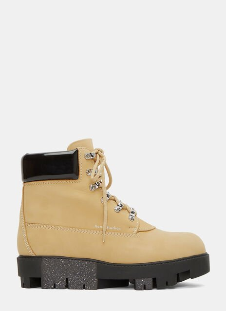 Telde Lace-Up Boots