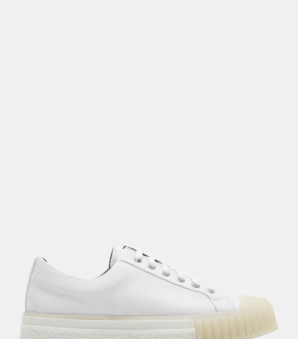 W.O. Canvas Low-Top Sneakers