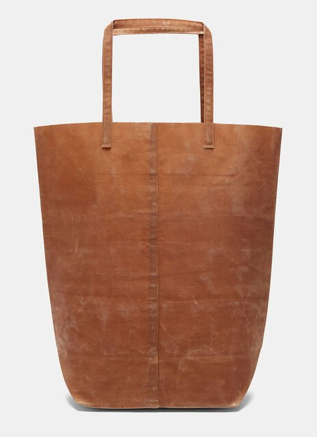 B Waxed Canvas Bag