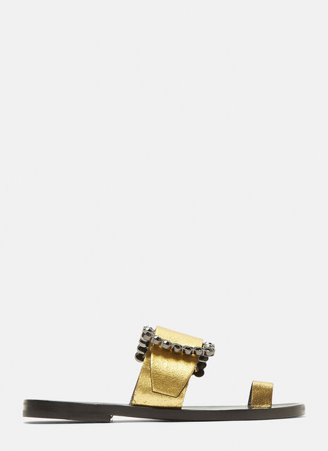 Maison Margiela Jewelled Buckle Sandals
