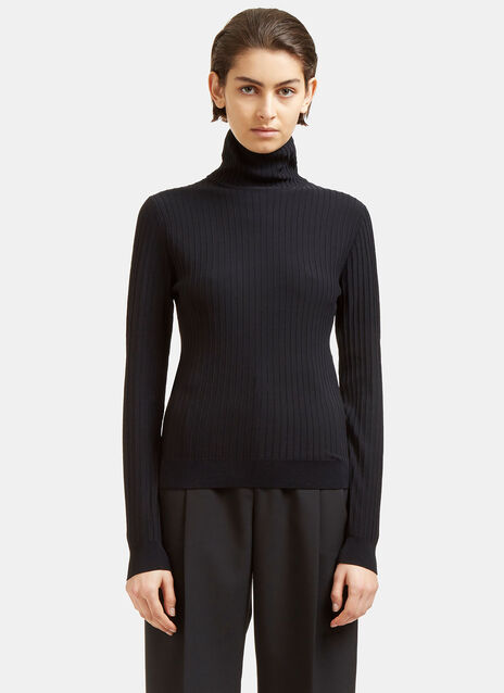 Ida Ribbed Roll Neck Sweater