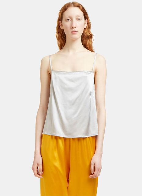 Shankar Silk Strap Top