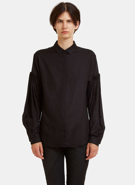 Dropped Pleat Shoulder Shirt