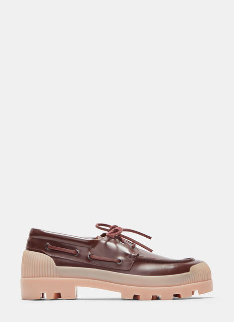Peter Chunky Rubber Soled Boat Shoes