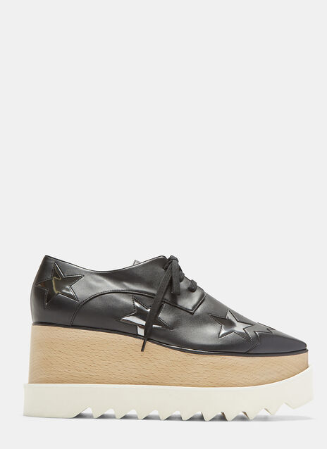 Elyse Metallic Stars Platform Shoes