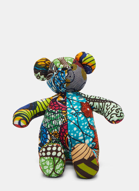 African Pattern Teddy 10