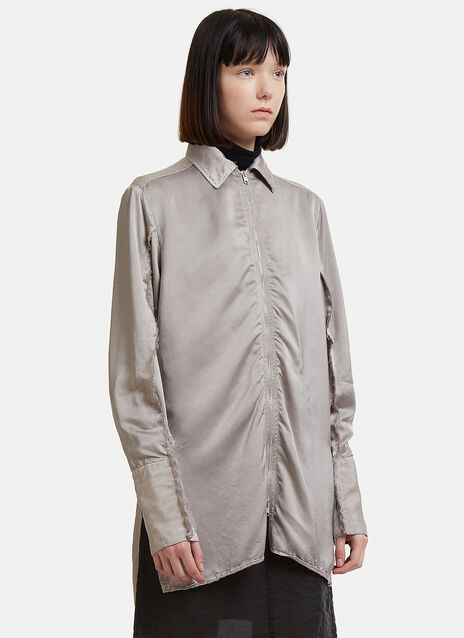 Oversized Zip Shirt