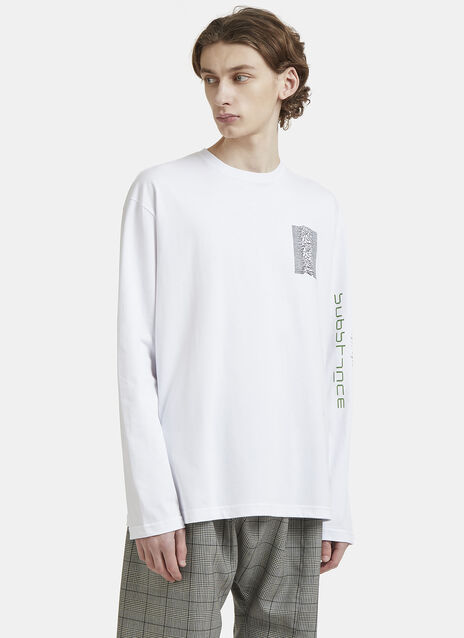 Raf Simons Joy Division Long Sleeve T-Shirt